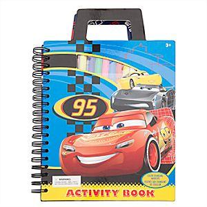 Cars 3 Activity Book