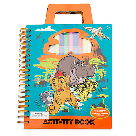The Lion Guard Activity Book