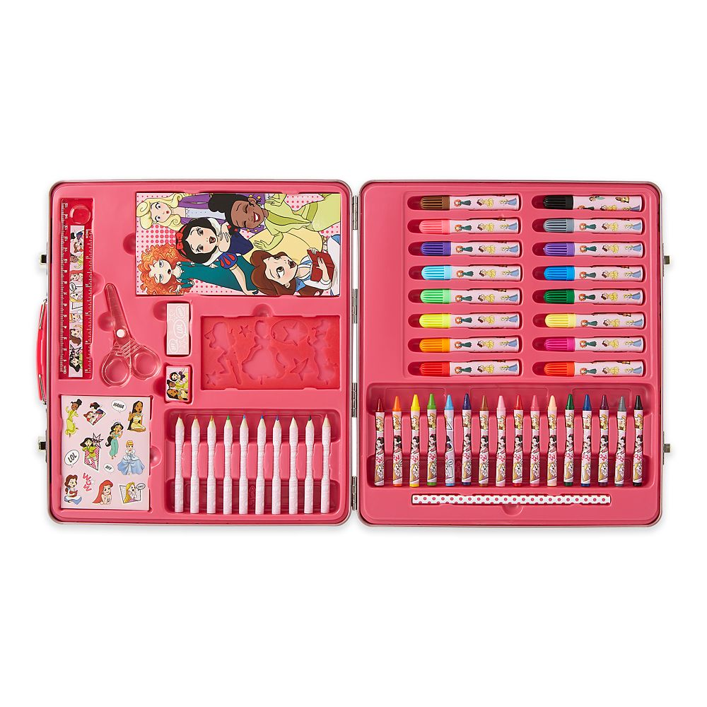 Disney Princess Tin Case Art Kit