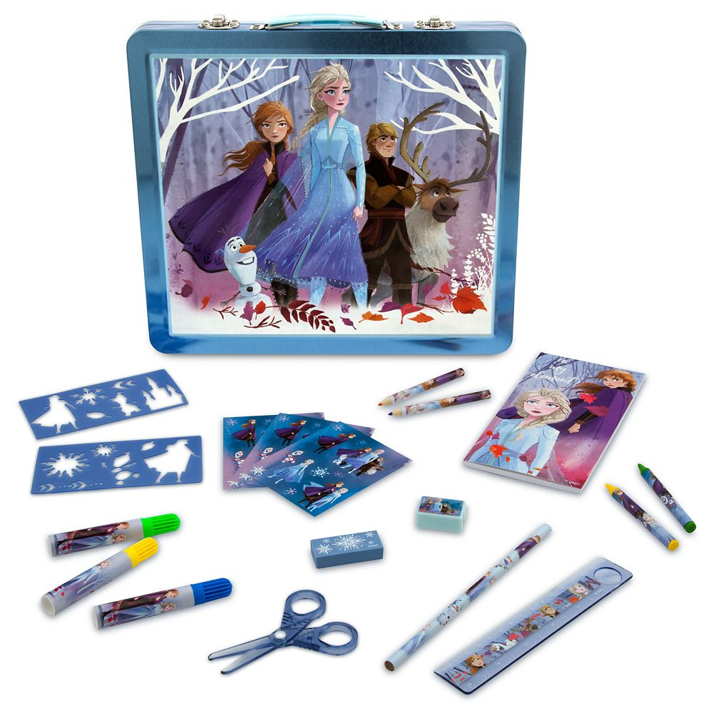 Frozen 2 Tin Case Art Kit