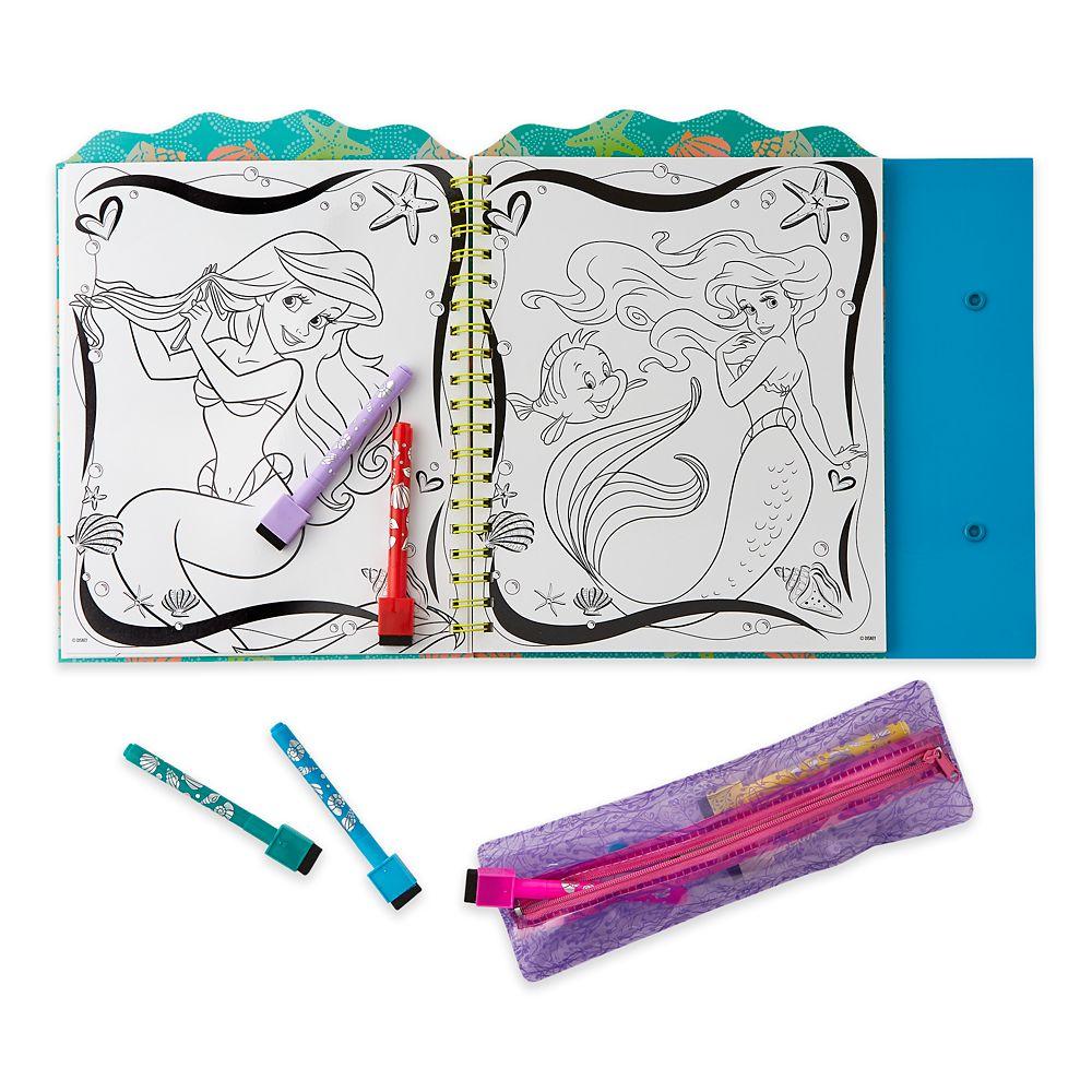 The Little Mermaid Dry Erase Art Kit