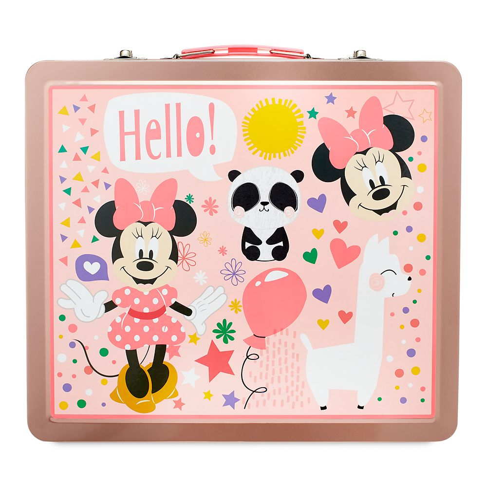 Minnie Mouse Tin Case Art Kit