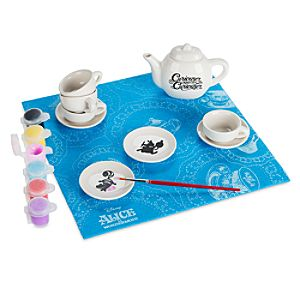 Alice in Wonderland Design Your Own Tea Party Craft Set by Seedling