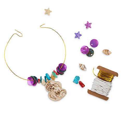 The Little Mermaid Create Your Own Shell Jewelry Craft Set by Seedling