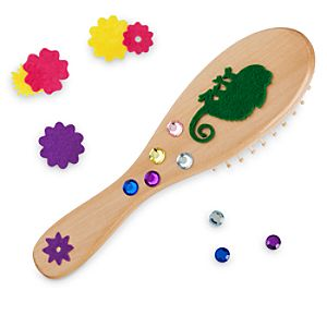 Tangled Design Your Own Magical Hairbrush Craft Set by Seedling