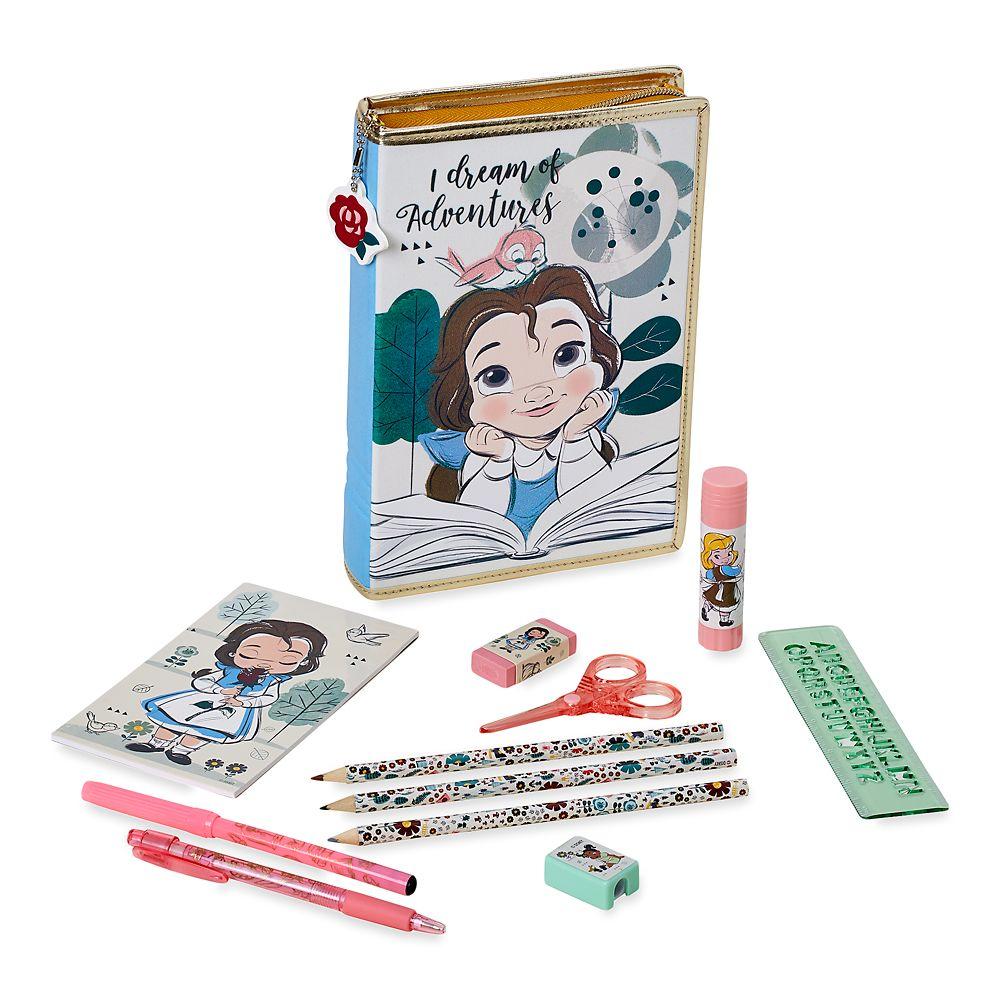 Disney Animators' Collection Belle Zip-Up Stationery Kit