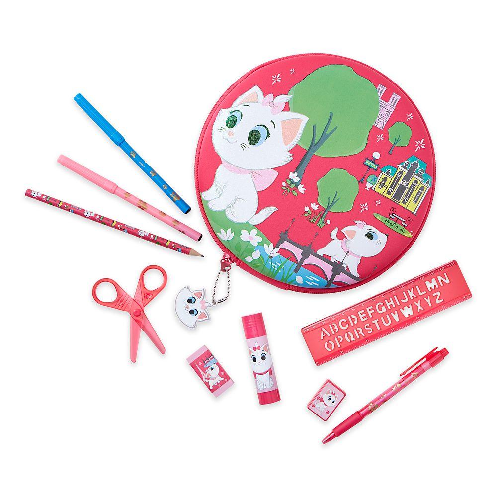 Marie Zip-Up Stationery Kit – Disney Furrytale friends