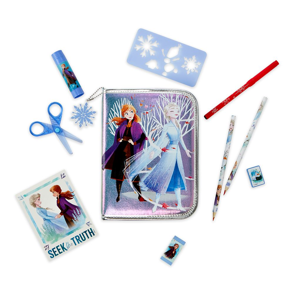 Frozen 2 Zip-Up Stationery Kit