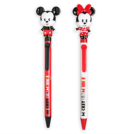 Mickey and Minnie Mouse MXYZ Pen Set