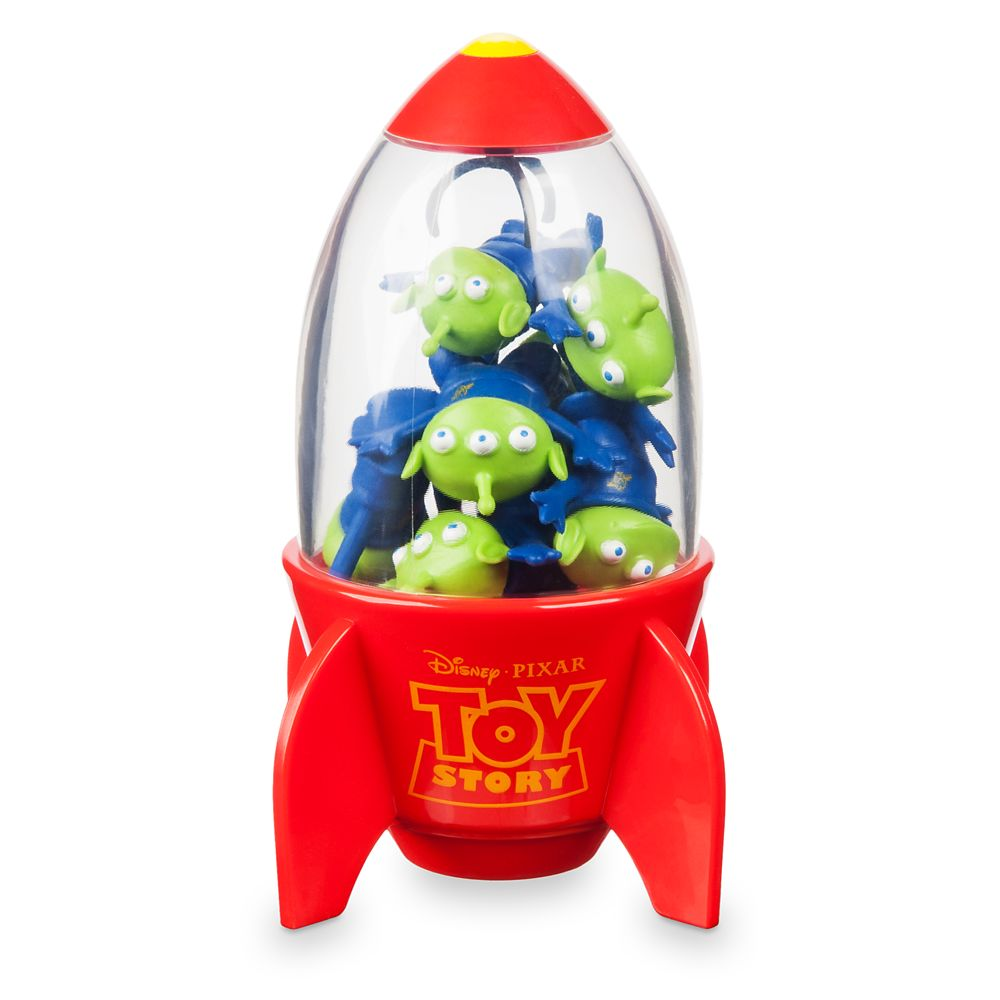 Space Alien Claw Eraser Set – Toy Story
