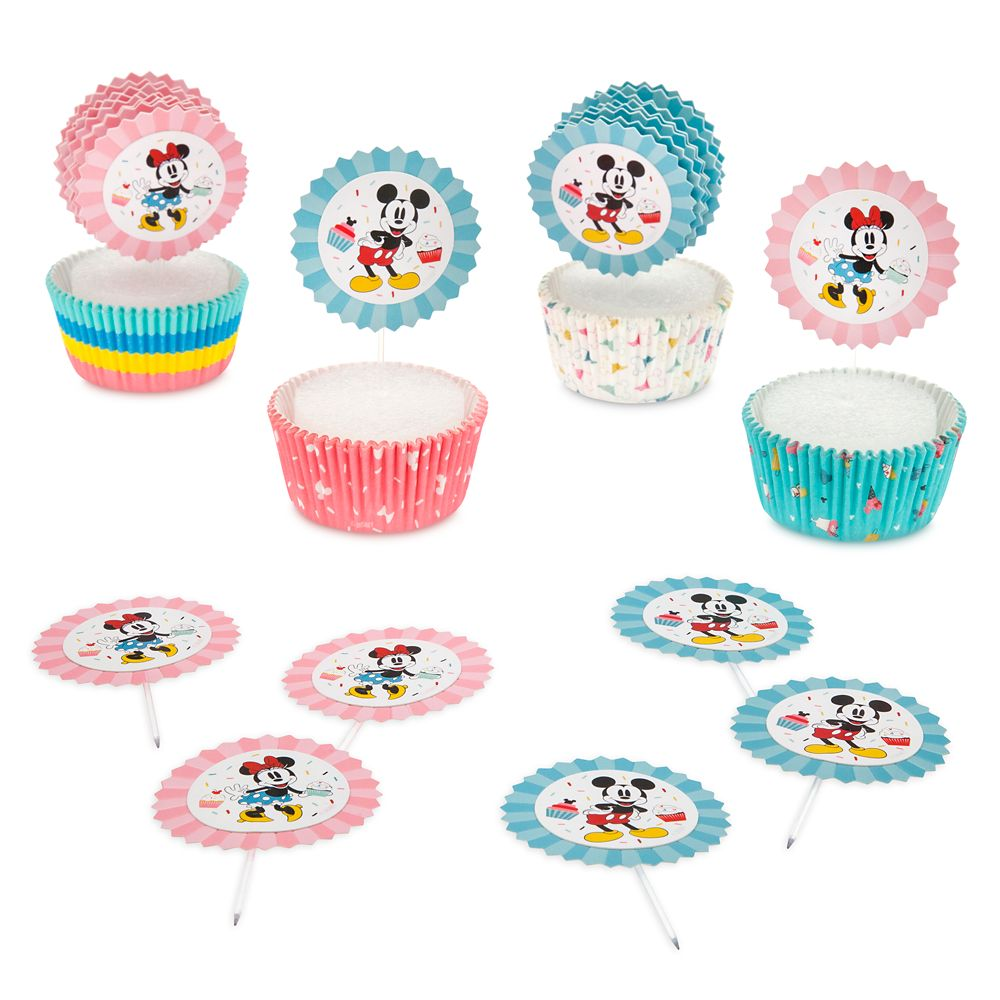 Mickey and Minnie Mouse Cupcake Kit – Disney Eats