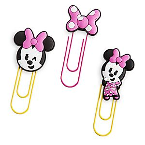 Minnie Mouse MXYZ Jumbo Paper Clip Set