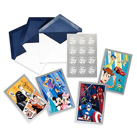 Disney Store 30th Anniversary Card Set