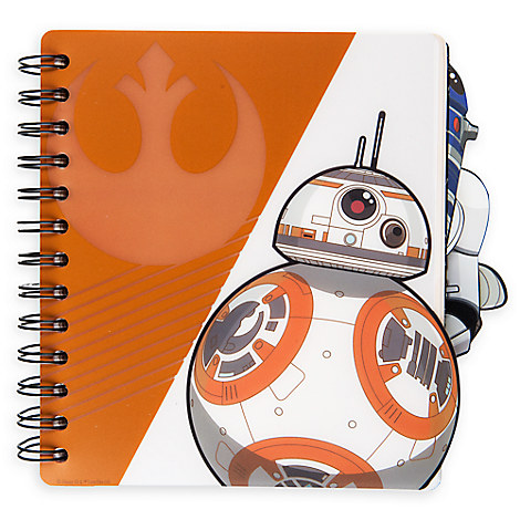 Flip Notebook - Star Wars: The Force Awakens