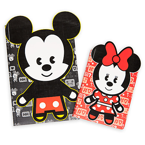 Mickey and Minnie Mouse MXYZ Journal Set