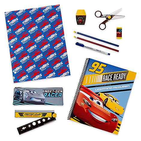 Cars 3 Stationery Supply Kit