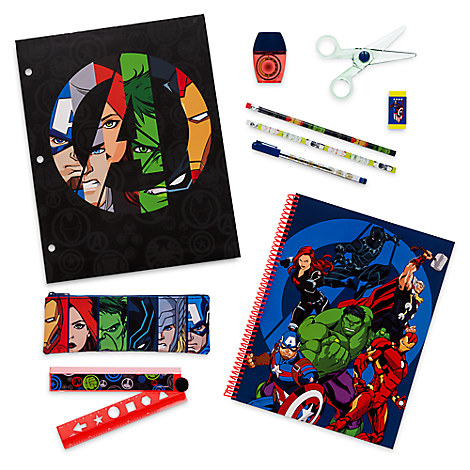 The Avengers Stationery Supply Kit
