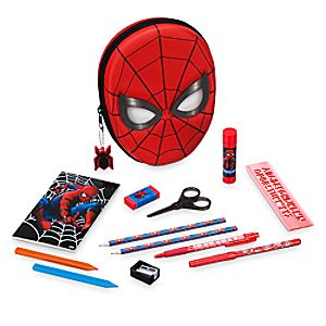 Spider-Man Zip Up Stationery Kit 6604041260328P