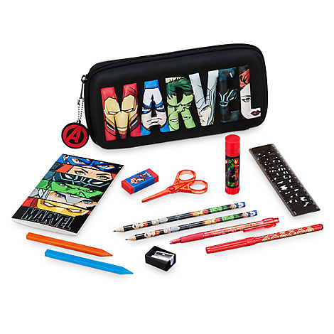 Avengers Zip-Up Stationery Kit