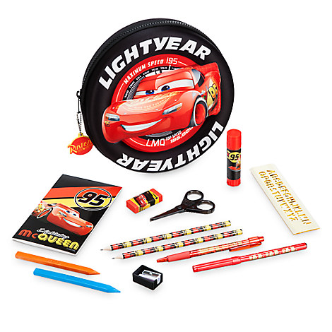 Cars 3 Zip-Up Stationery Kit