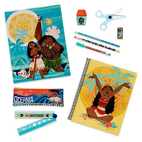 Moana Stationery Supply Kit