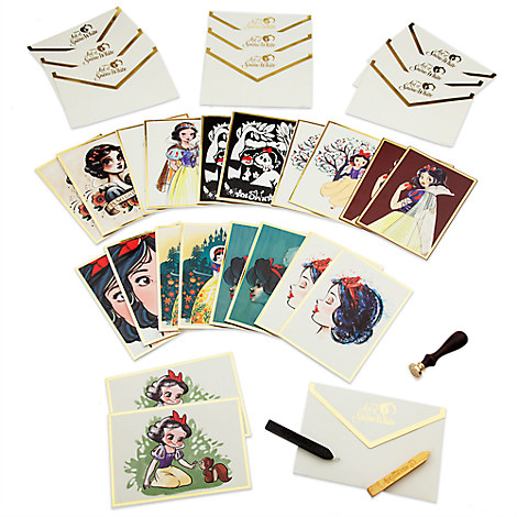 Art of Snow White Notecard Set