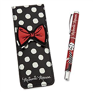 Minnie Mouse Signature Pen with Case
