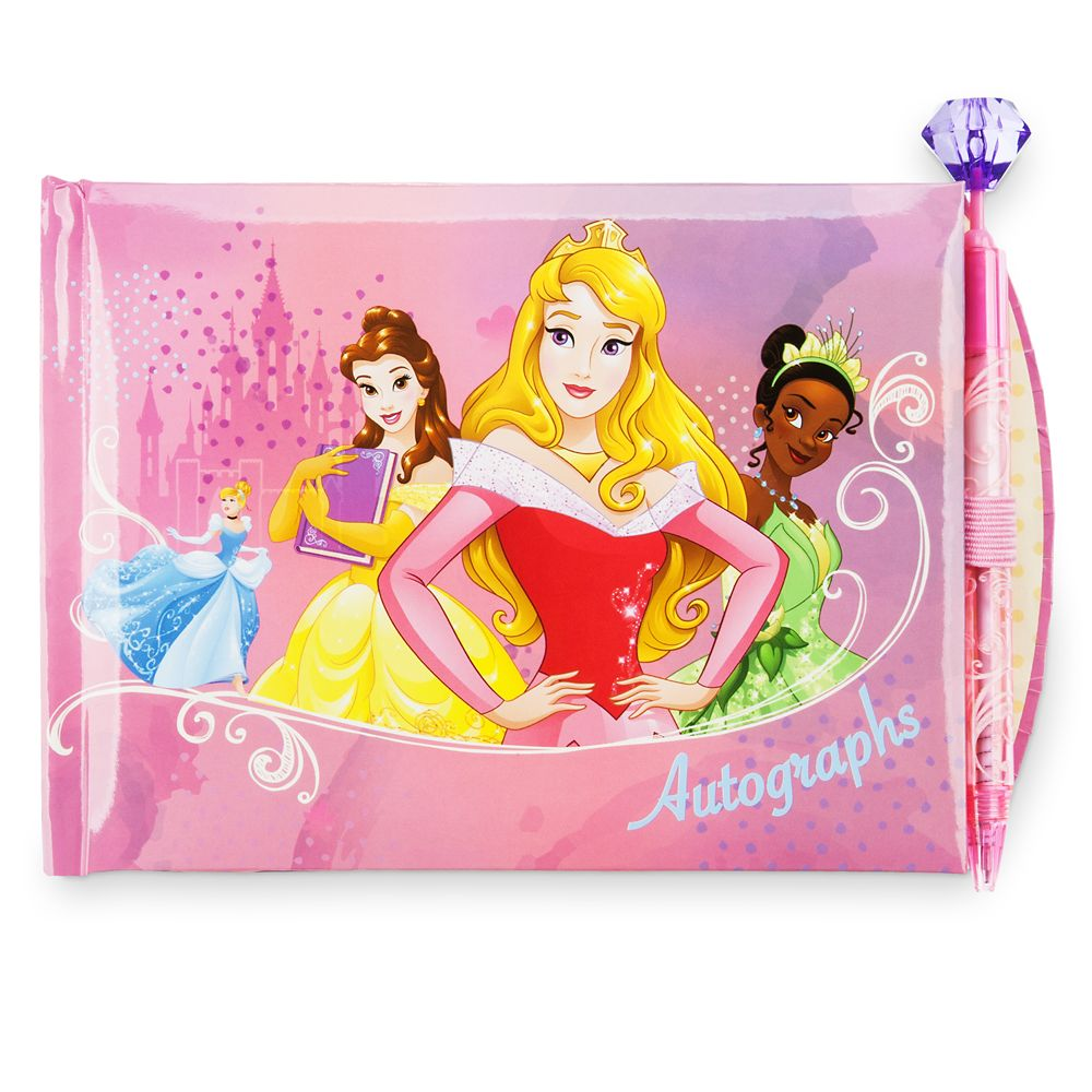 Disney Princess Autograph Book with Pen