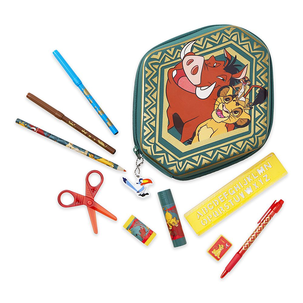 The Lion King Zip-Up Stationery Kit