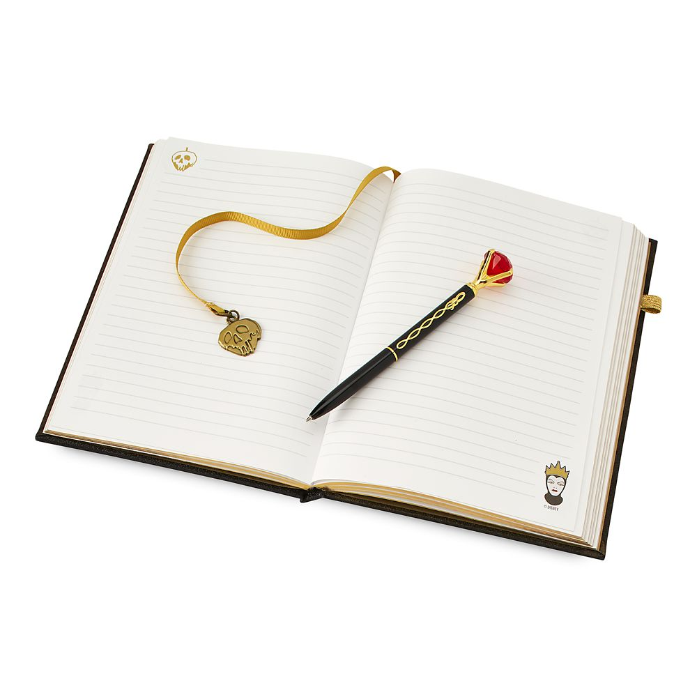 Evil Queen Journal and Pen Set – Snow White and the Seven Dwarfs
