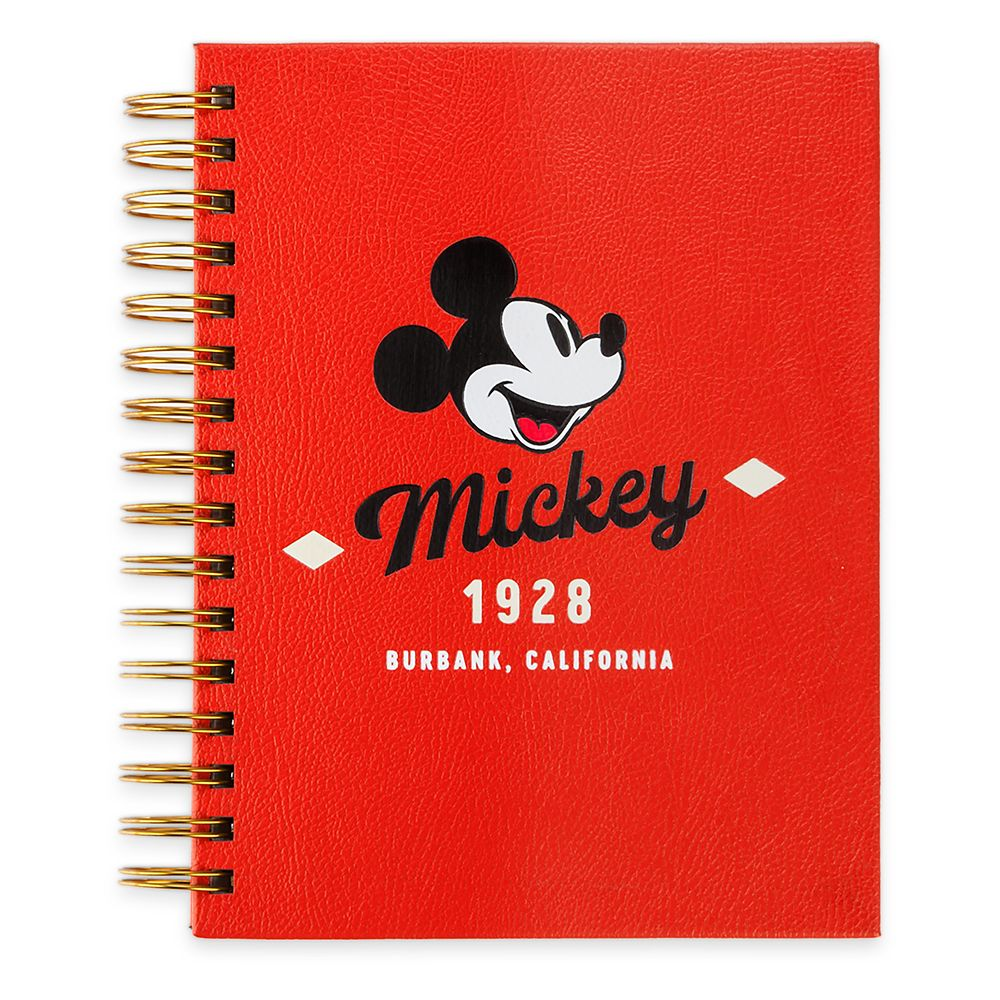 Mickey Mouse Journal with Sticky Notes