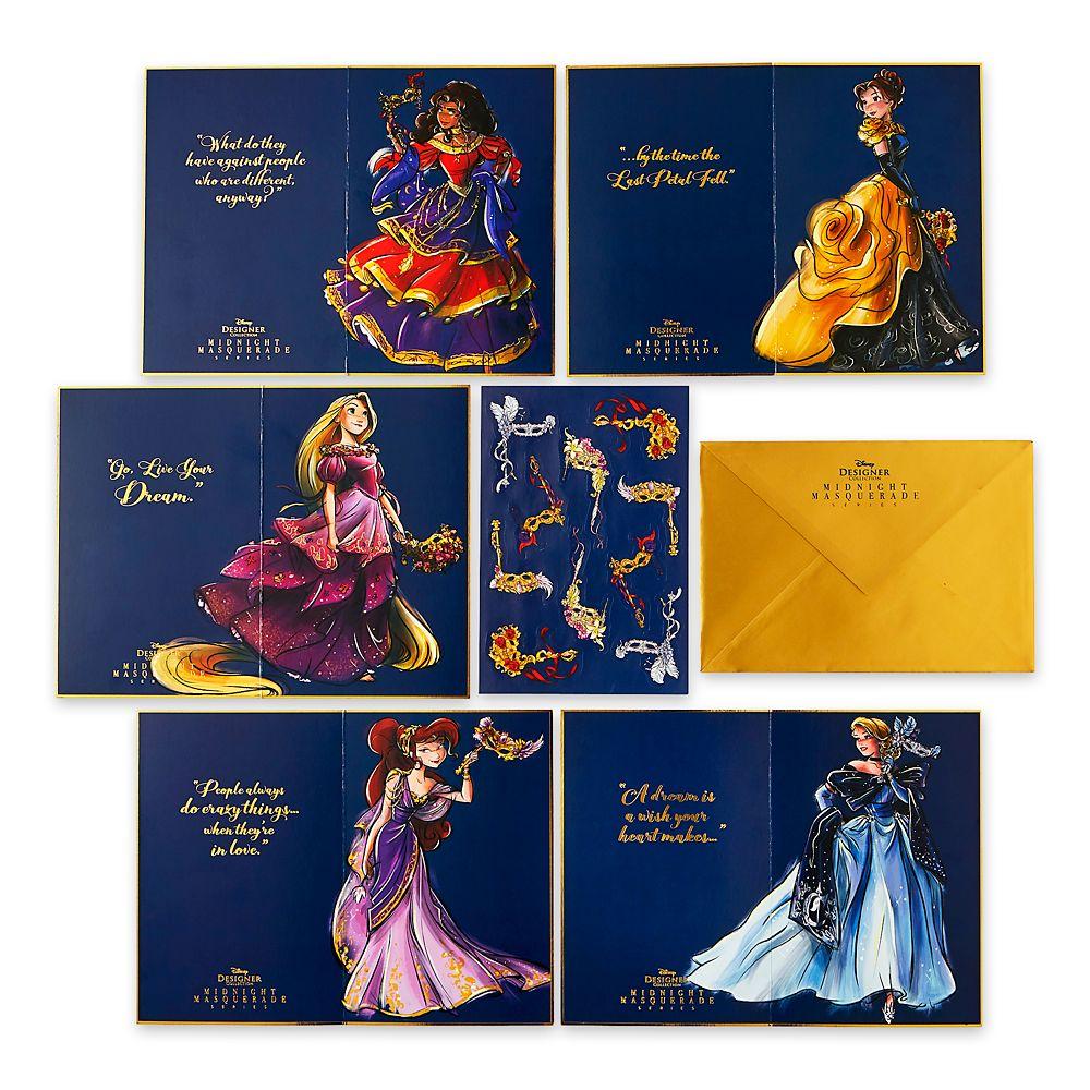 Disney Designer Collection Midnight Masquerade Series Stationery Set