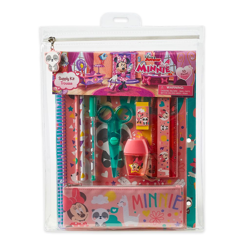 Minnie Mouse Stationery Supply Kit