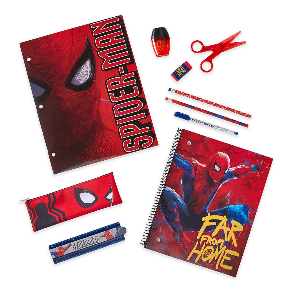 Spider-Man: Far from Home Stationery Supply Kit