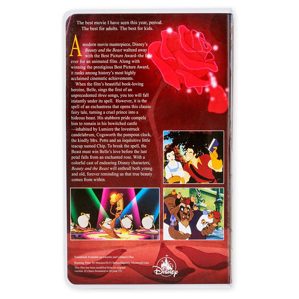 Beauty and the Beast ''VHS Case'' Journal