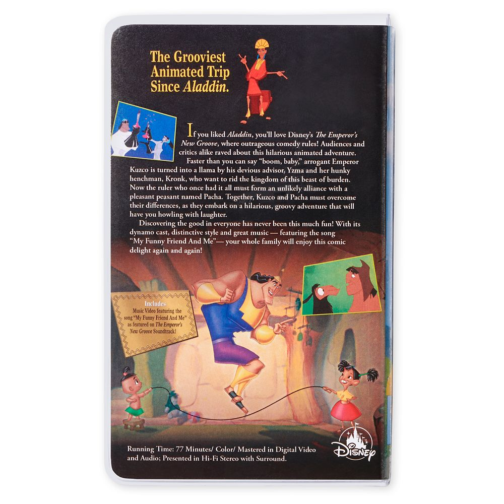 The Emperor's New Groove ''VHS Case'' Journal