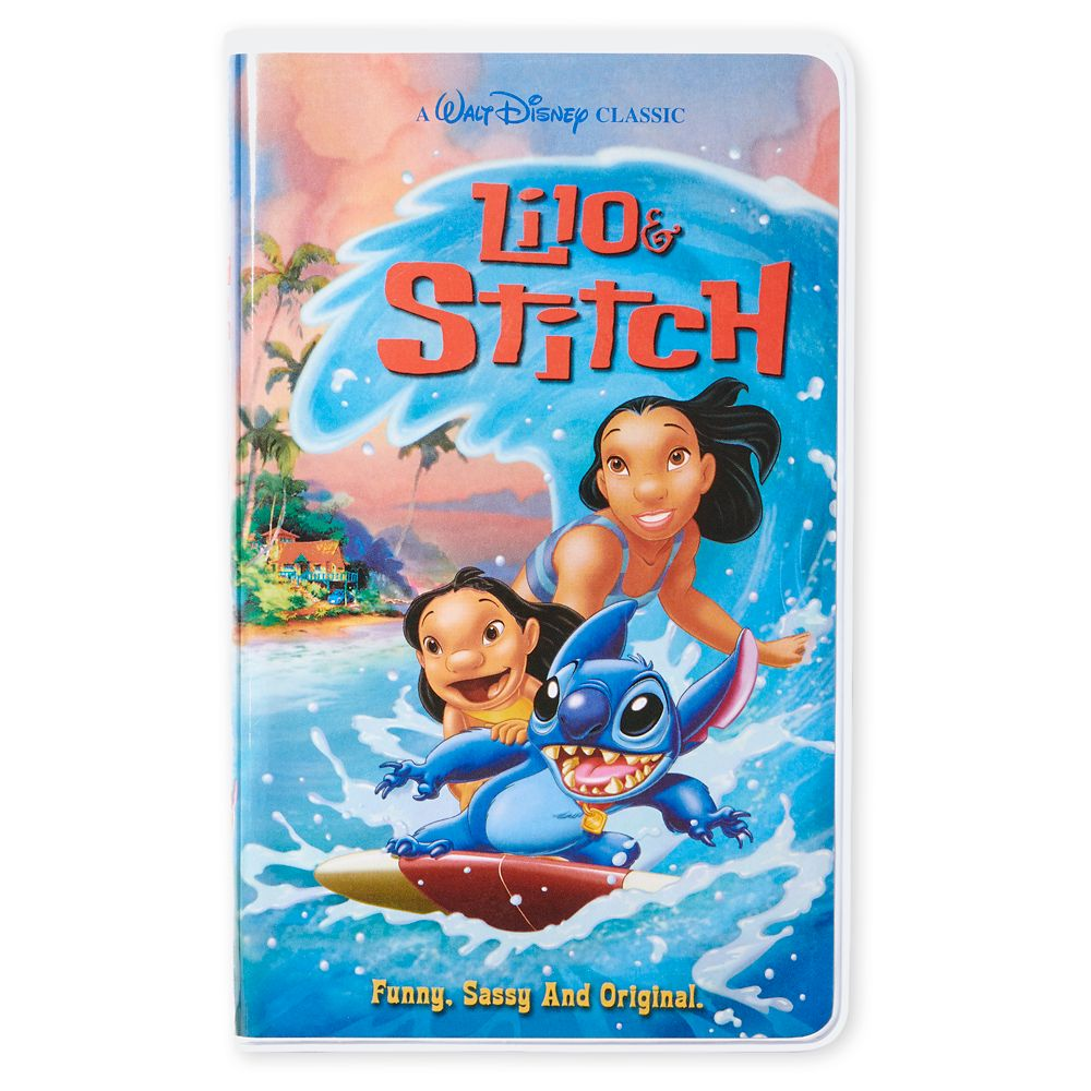 Lilo & Stitch ''VHS Case'' Journal