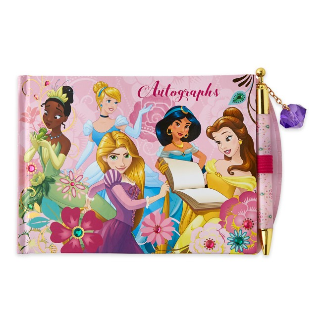 Disney Princess Autograph Book Photo Album with Pen
