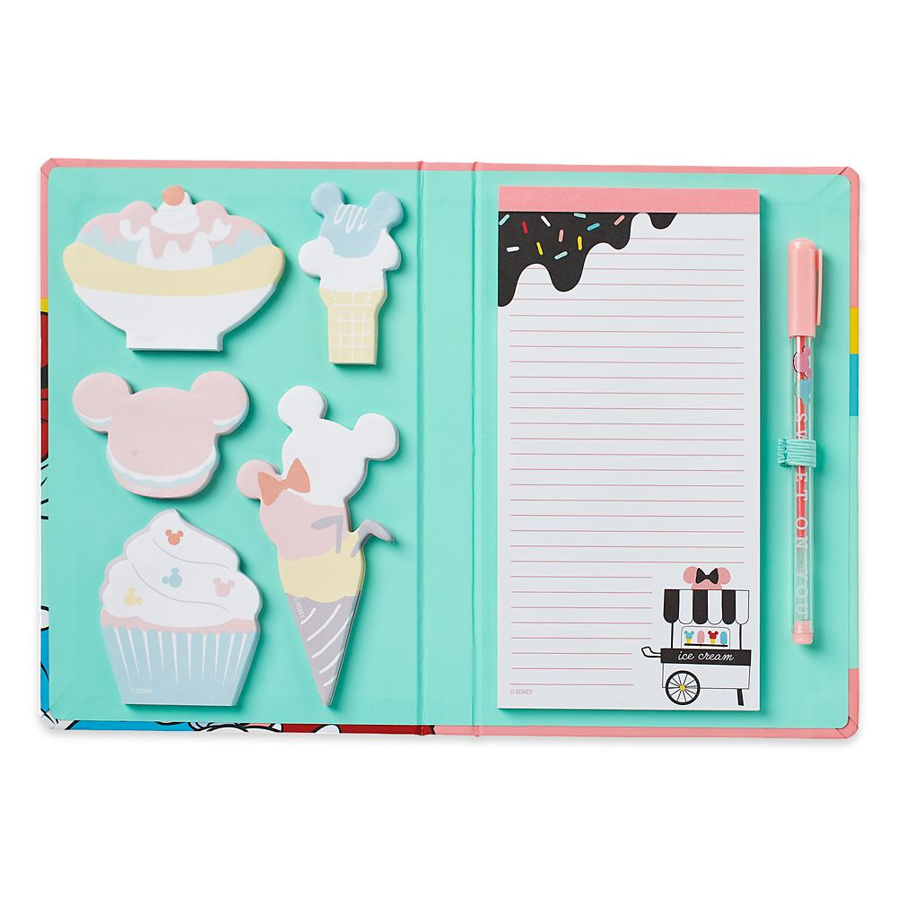 Mickey and Minnie Mouse Stationery Set – Disney Eats