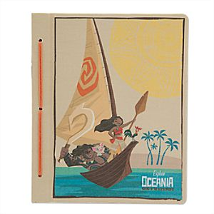 Disney Moana Travel Journal
