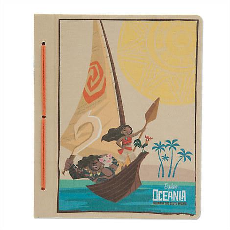 Disney Moana Travel Journal