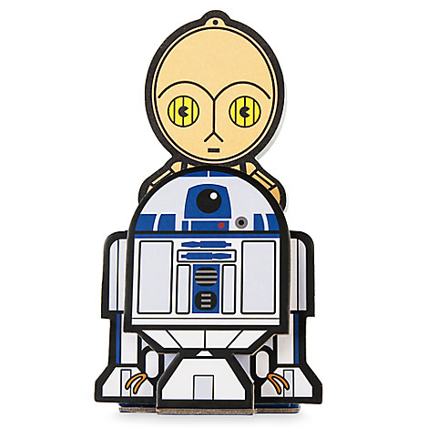 C-3P0 and R2-D2 MXYZ Desk Notepad - Star Wars