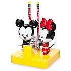 Mickey and Minnie Mouse MXYZ Desk Accessory Set