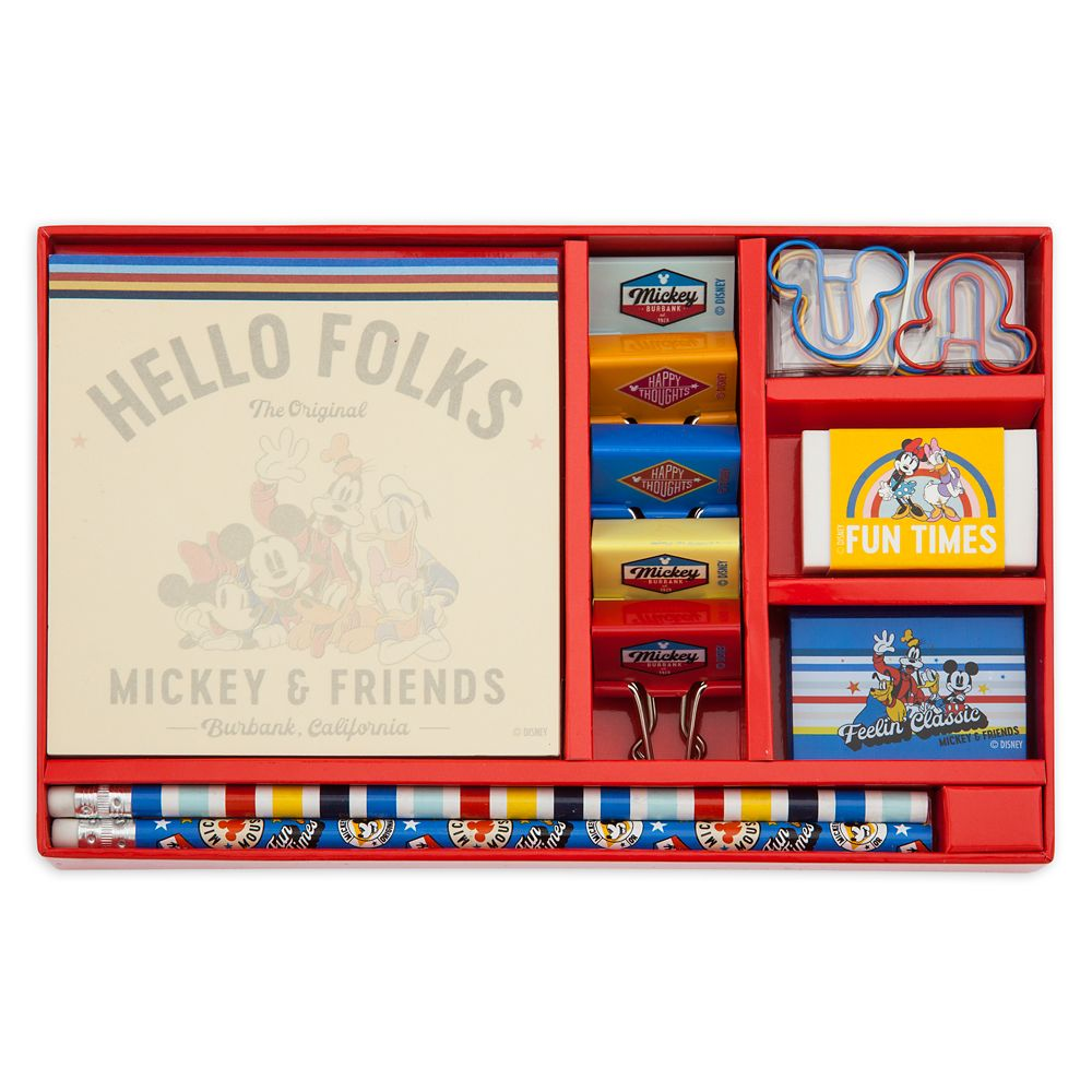 Mickey Mouse and Friends Stationery Set