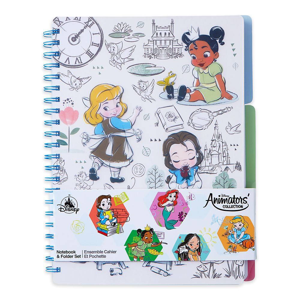 Disney Animators' Collection Notebook and Folder Set