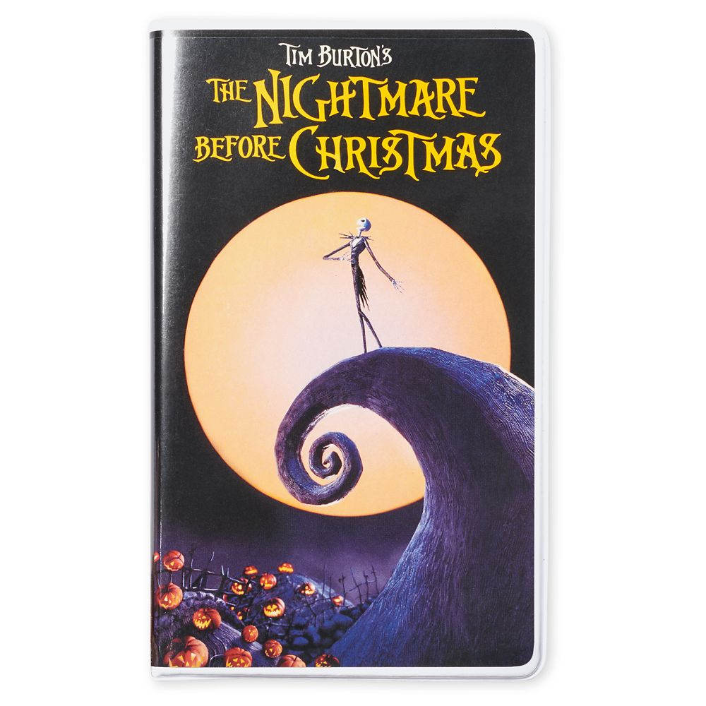 Tim Burton's The Nightmare Before Christmas ''VHS Case'' Journal
