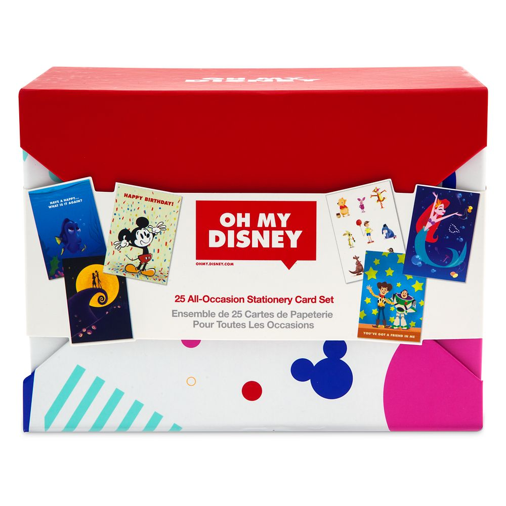 Oh My Disney Stationery Card Set