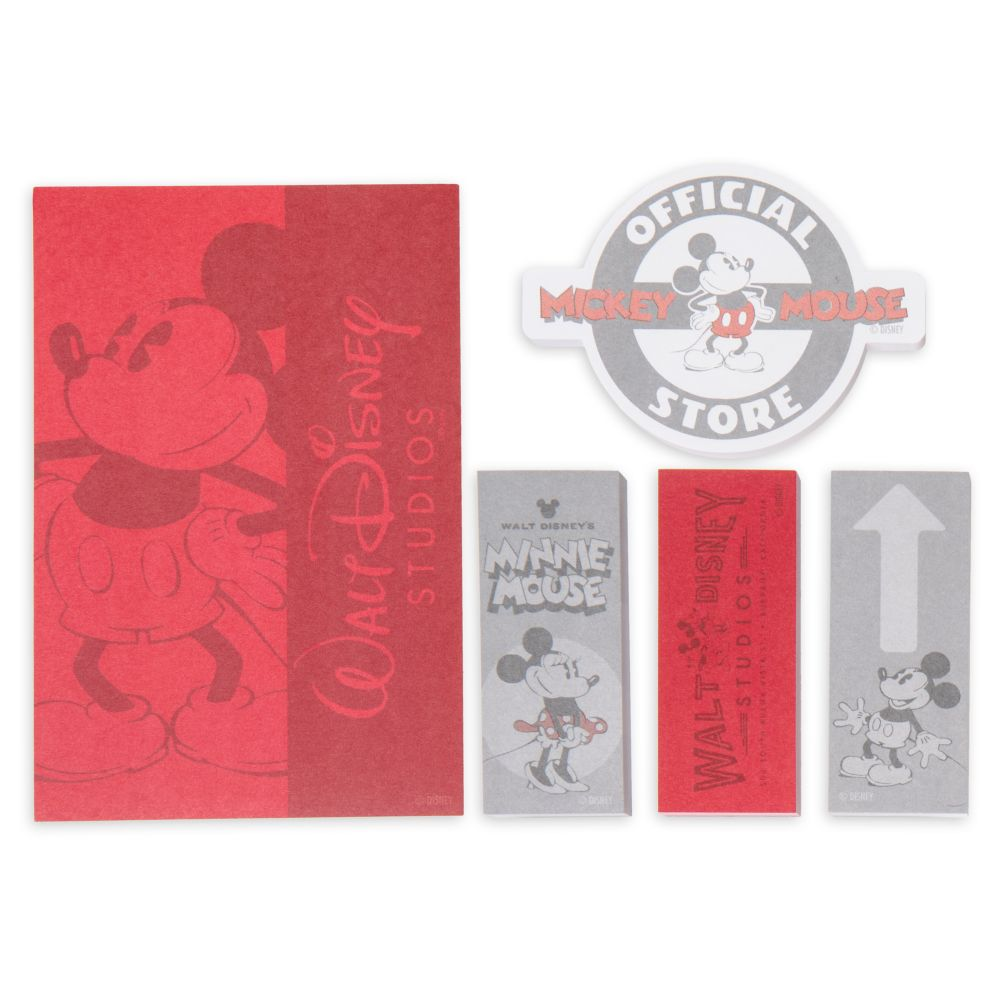 Mickey and Minnie Mouse Sticky Notes Set  Walt Disney Studios