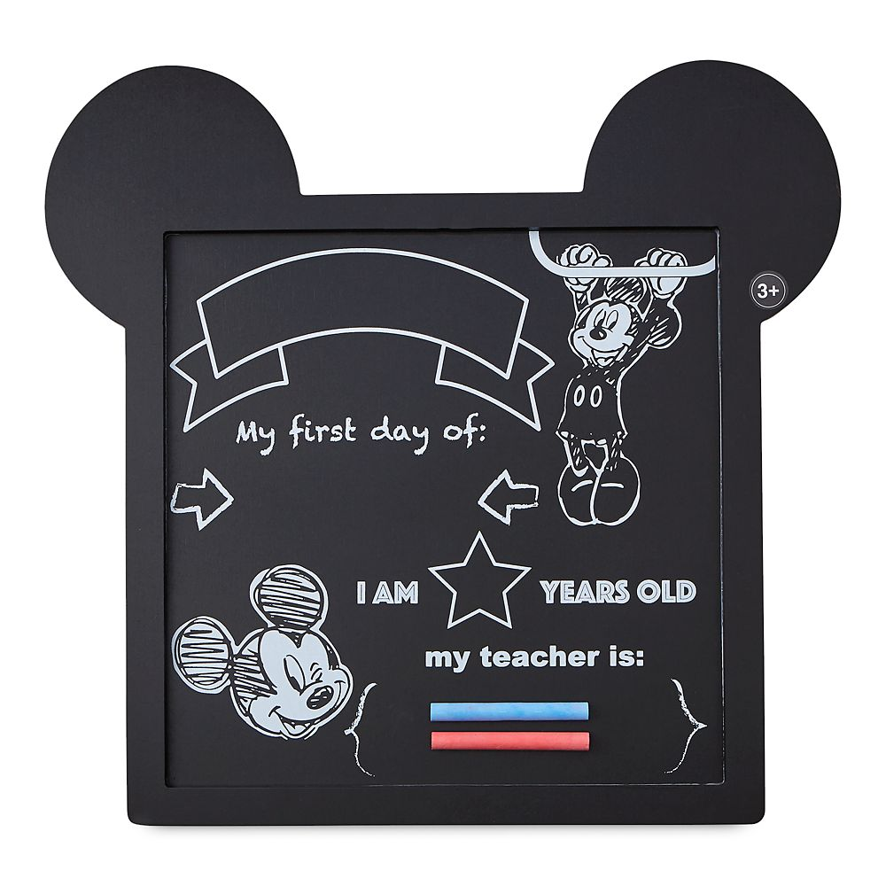 Mickey Mouse Chalkboard Sign