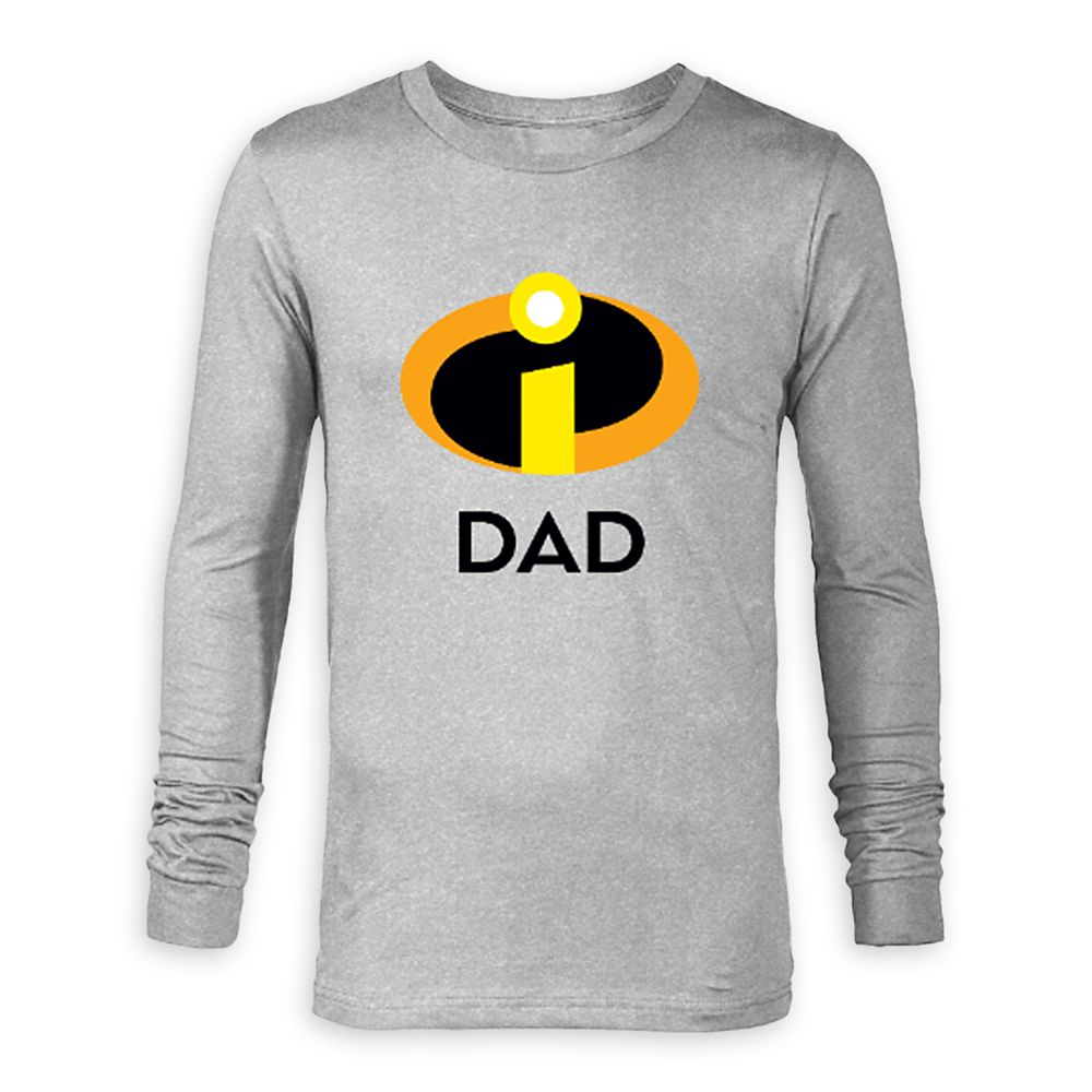 Incredible Dad Long Sleeve T-Shirt for Adults – The Incredibles – Customized
